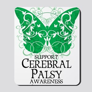 Cerebral-Palsy-Butterfly Mousepad