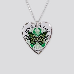 Cerebral-Palsy-Butterfly-Trib Necklace Heart Charm
