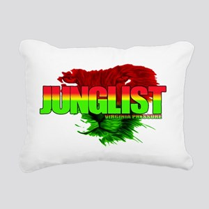 junglist Rectangular Canvas Pillow