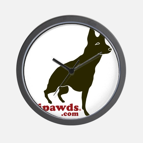 Tripawds.com Three Legged GSD Wall Clock