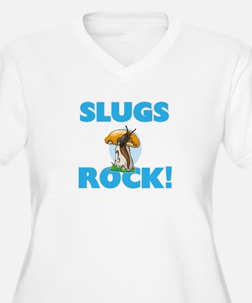 Slugs rock! Plus Size T-Shirt