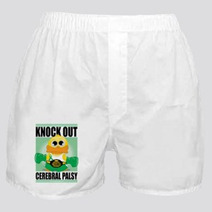 Knock-Out-Cerebral-Palsy Boxer Shorts