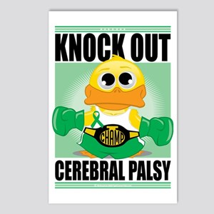Knock-Out-Cerebral-Palsy Postcards (Package of 8)