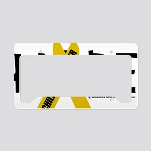 Childhood-Cancer-Hope License Plate Holder
