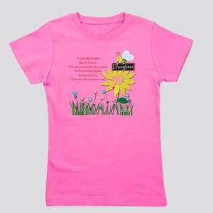 You Are My Sunshine Daughter Girl's Tee