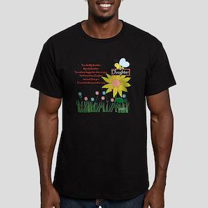 You Are My Sunshine Da Men's Fitted T-Shirt (dark)