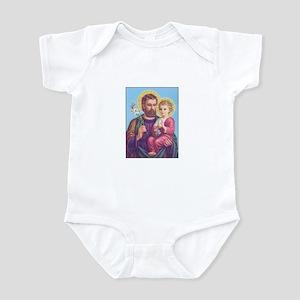 St. Joseph with Jesus Infant Bodysuit