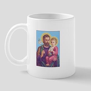 St. Joseph with Jesus Mug