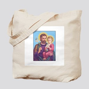 St. Joseph with Jesus Tote Bag