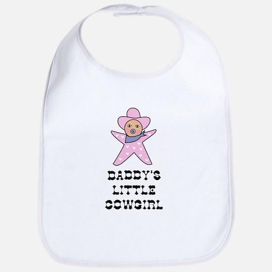 Daddy's Little Cowgirl Bib