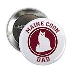 Maine Coon Dad Button