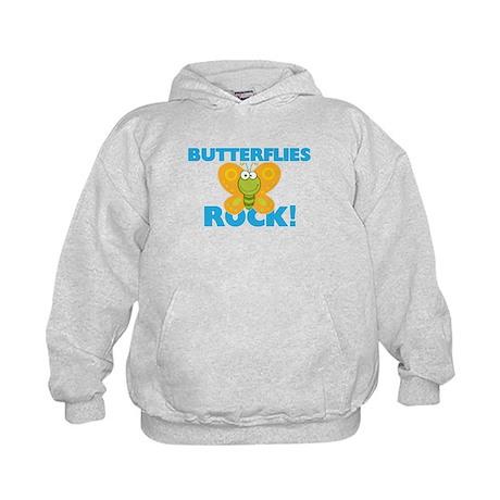 Butterflies rock! Sweatshirt