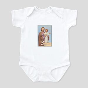 Saint Joseph - Baby Jesus Infant Bodysuit