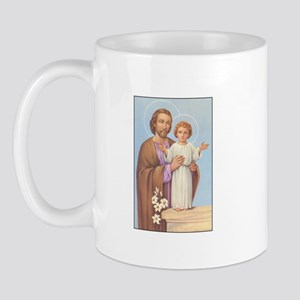 Saint Joseph - Baby Jesus Mug