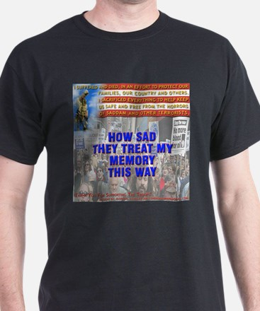 - Fallen Soldiers Thoughts-01 T-Shirt