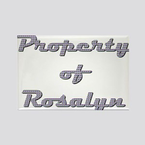 Property Of Rosalyn Female Magnets