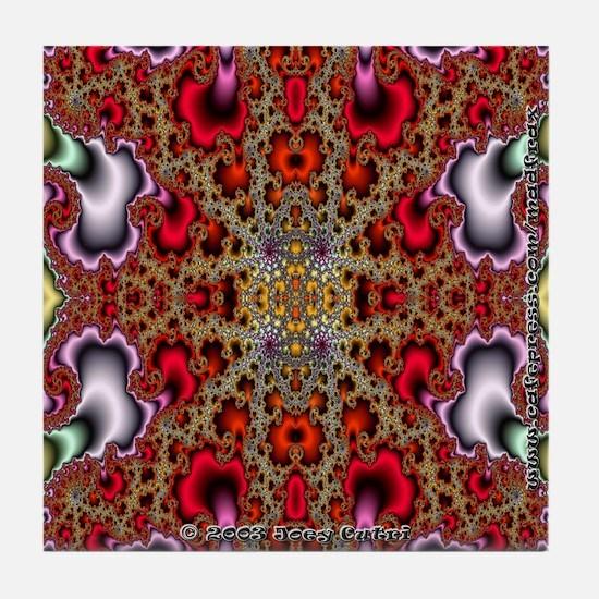 Fractal FS~10 Tile Coaster