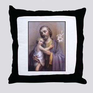 St. Joseph Throw Pillow