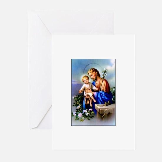 Saint Joseph Greeting Cards (Pk of 10)