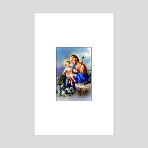 Saint Joseph Mini Poster Print