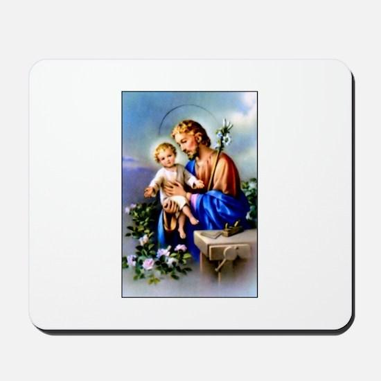 Saint Joseph Mousepad
