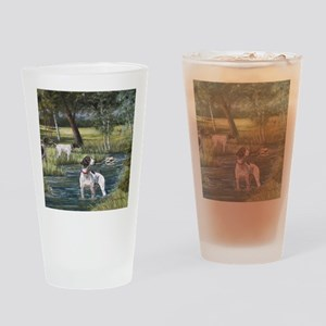 German Shorthaired Pointerd Drinking Glass