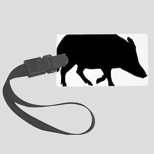 wild_pig Large Luggage Tag