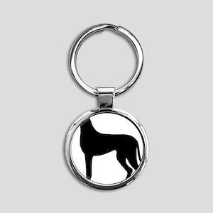 dog_dogge Round Keychain