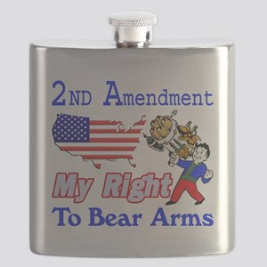 My Right To Bear Arms Flask