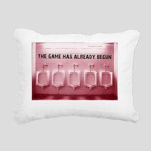 Pink2 Rectangular Canvas Pillow
