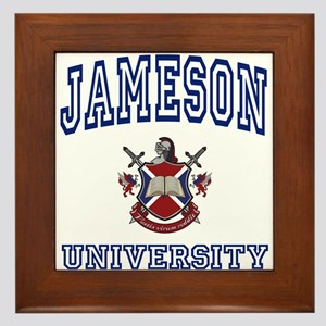 JAMESON University Framed Tile
