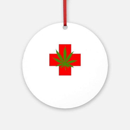 can54dark Round Ornament
