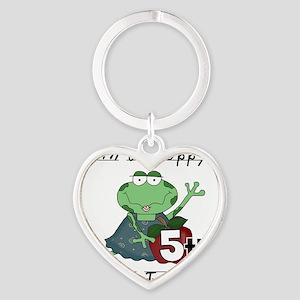HOPPY5THGRADE Heart Keychain