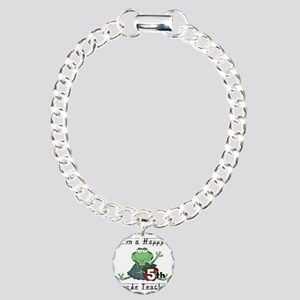 HOPPY5THGRADE Charm Bracelet, One Charm