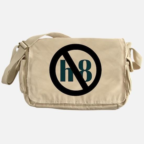 no h8 Messenger Bag