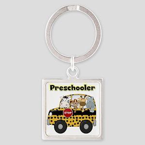 schoolpreschooler Square Keychain