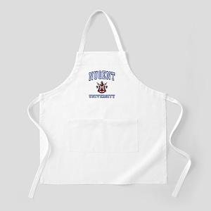 NUGENT University BBQ Apron