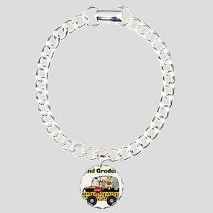 school2ndgrader Charm Bracelet, One Charm