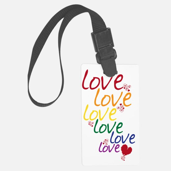 love is love2 Luggage Tag