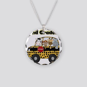 school2ndgrader Necklace Circle Charm
