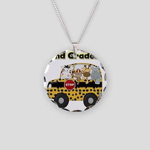 school2ndgrader Necklace Circle Charm