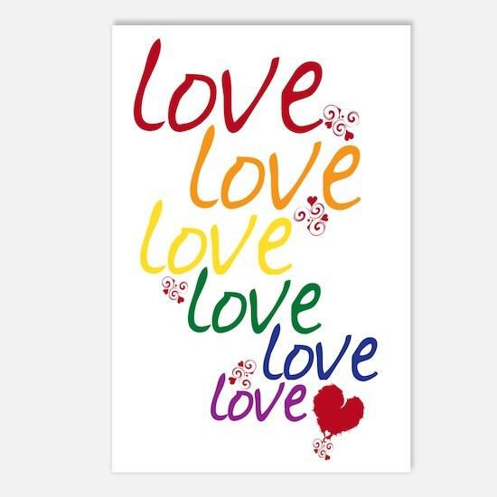 love is love2 Postcards (Package of 8)