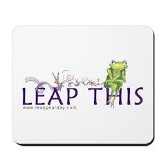 LEAP THIS Mousepad