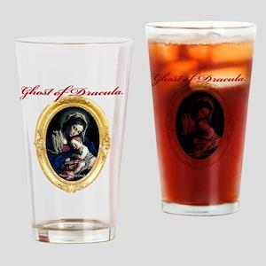 Vampire and Child Drinking Glass