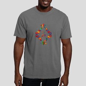 Colorful Letter Z Monogr Mens Comfort Colors Shirt
