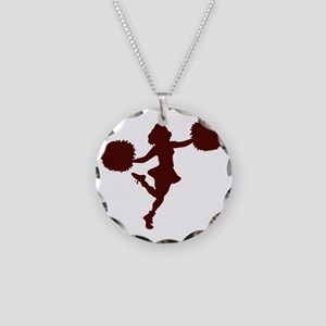 32220961CRIMSON Necklace Circle Charm