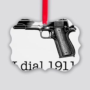 Dial 1911 Picture Ornament