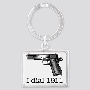 Dial 1911 Landscape Keychain