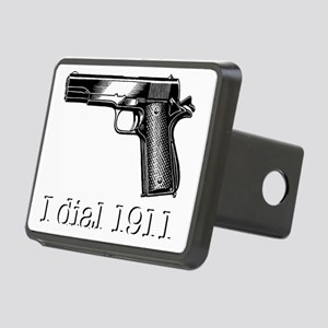 Dial 1911dark Rectangular Hitch Cover