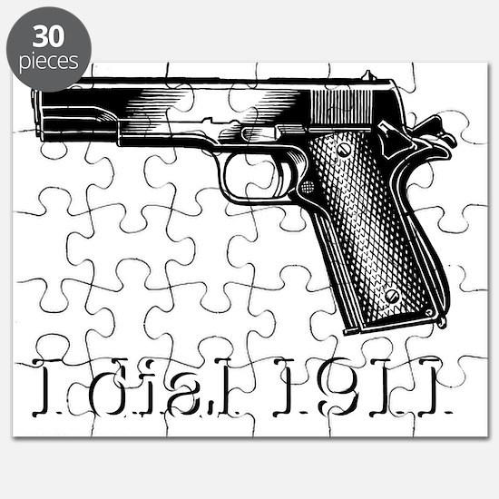Dial 1911dark Puzzle